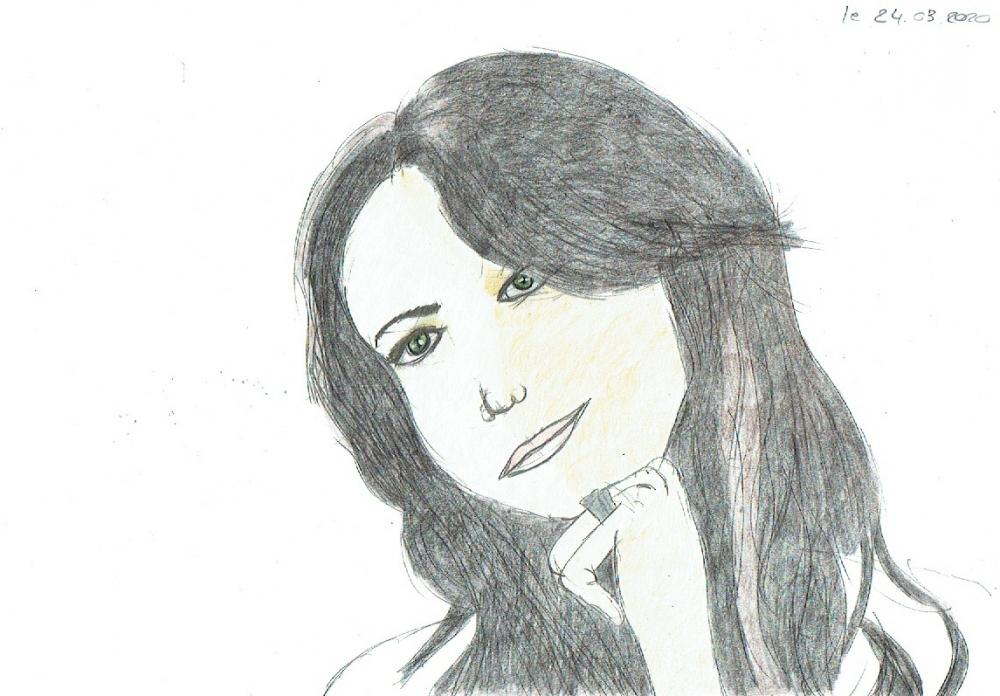 Michèle Morgan par annabbyscuito